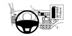 Fixation voiture Proclip  Brodit Kia Rio Réf 854689