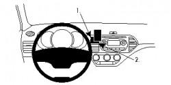 Fixation voiture Proclip  Brodit Kia Picanto Réf 854691