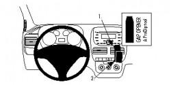 Fixation voiture Proclip  Brodit Fiat Doble Réf 854694