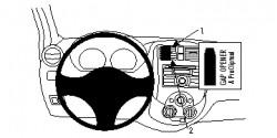 Fixation voiture Proclip  Brodit Nissan Tiida Réf 854699