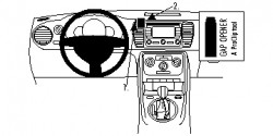 Fixation voiture Proclip  Brodit Volkswagen Beetle Réf 854711