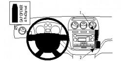 Fixation voiture Proclip  Brodit Ford Transit Connect  SEULEMENT pour les modèles avec port USB. Réf 854744