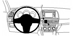 Fixation voiture Proclip  Brodit Mazda CX-5 Réf 854752