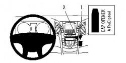 Fixation voiture Proclip  Brodit Hyundai i30 Réf 854755