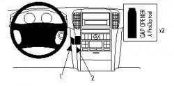 Fixation voiture Proclip  Brodit Kia Sorento  PAS pour les modèles avec brun finition bois Réf 854759
