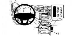 Fixation voiture Proclip  Brodit Kia cee'd Réf 854767