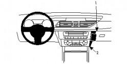 Fixation voiture Proclip  Brodit Audi A7 Réf 854786