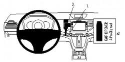 Fixation voiture Proclip  Brodit Honda CR-V  PAS pour les modèles avec bouton de démarrage. Réf 854802