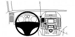 Fixation voiture Proclip  Brodit Hyundai i30 Réf 854809
