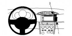 Fixation voiture Proclip  Brodit Scion FR-S Réf 854812
