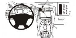 Fixation voiture Proclip  Brodit Ford Fusion Réf 854822