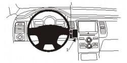 Fixation voiture Proclip  Brodit Ford Flex Réf 854844