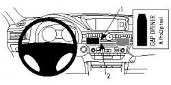 Fixation voiture Proclip  Brodit Lexus ES Series Réf 854847
