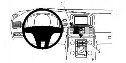Fixation voiture Proclip  Brodit Volvo V40 Réf 854861