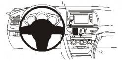 Fixation voiture Proclip  Brodit Mazda 6 Réf 854876