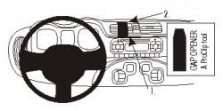 Fixation voiture Proclip  Brodit Fiat Panda Réf 854880