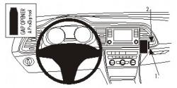 Fixation voiture Proclip  Brodit Seat Leon Réf 854890