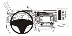 Fixation voiture Proclip  Brodit Toyota RAV 4 Réf 854893