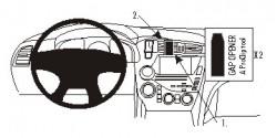 Fixation voiture Proclip  Brodit Citroen DS5 Réf 854906