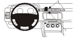 Fixation voiture Proclip  Brodit Land Rover Range Rover Sport Réf 854936