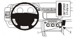 Fixation voiture Proclip  Brodit Land Rover Range Rover Sport Réf 854938
