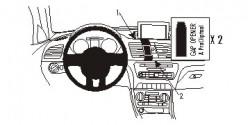 Fixation voiture Proclip  Brodit Audi Q3 Réf 854950