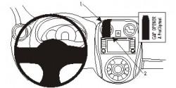 Fixation voiture Proclip  Brodit Nissan Note Réf 854978