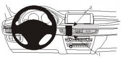 Fixation voiture Proclip  Brodit BMW X5 Réf 854979