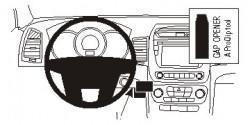 Fixation voiture Proclip  Brodit Kia Sorento  SEULEMENT pour les modèles avec démarrage sans clé. Va interférer avec la clé sur d'autres modèles. Réf 854985