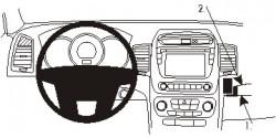 Fixation voiture Proclip  Brodit Kia Sorento Réf 854986