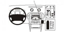 Fixation voiture Proclip  Brodit Ford Mondeo  Seulement pour les entreprises X. Réf 854995