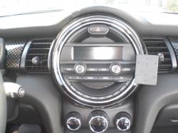 Fixation voiture Proclip  Brodit Mini Cooper  SEULEMENT pour les modèles avec: radio standard, Visual Boost 6.5 &quot