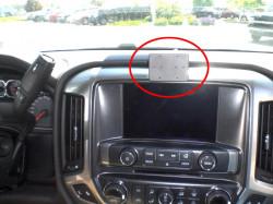 Fixation voiture Proclip  Brodit Chevrolet Silverado Réf 855014