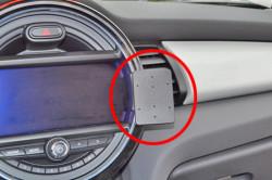 Fixation voiture Proclip  Brodit Mini Cooper  SEULEMENT pour les modèles avec: Visual Boost et Navigation XL écran 8.20 cm.. Réf 855032