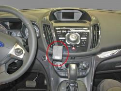 Fixation voiture Proclip  Brodit Ford Kuga  SEULEMENT pour Sony stéréo. Réf 855045