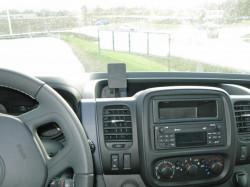 Fixation voiture Proclip  Brodit Opel Vivaro Réf 855072