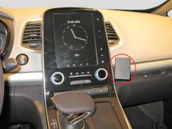 Fixation voiture Proclip  Brodit Renault Espace Réf 855127