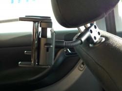 Support voiture appui tête pour tablettes vidéo