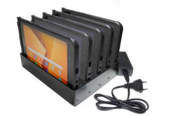 Station de charge 5 positions pour Samsung Galaxy Tab Active 2. SM-T390/SM-T395. Réf Brodit 215985