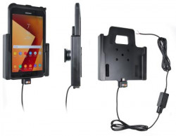 Support tablette Samsung Galaxy Tab Active 2 SM-T390/SM-T395 pour installation fixe. Réf Brodit 727002