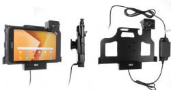 Support Samsung Galaxy Tab Active 2. SM-T390/SM-T395 verrouillé à clé - pour installation fixe. Réf Brodit 736003