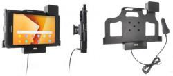 Support Samsung Galaxy Tab Active 2. SM-T390/SM-T395 sécurisé - avec chargeur allume-cigare. Réf Brodit 746003