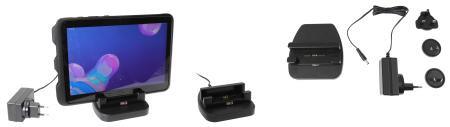 Station de charge 1 position pour Samsung Galaxy Tab Active 2, 3 et Pro. Réf Brodit 216188
