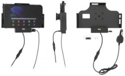 Support Samsung Galaxy Tab Active 2 & 3 avec chargeur allume-cigare et port USB indépendant. Réf Brodit 712225