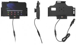 Support Samsung Galaxy Tab Active 2 & 3 avec cable USB et adaptateur allume-cigare. Réf Brodit 721224