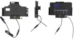 Support Samsung Galaxy Tab Active 2 & 3 avec cable USB et adaptateur allume-cigare + USB indépendant. Réf Brodit 721225