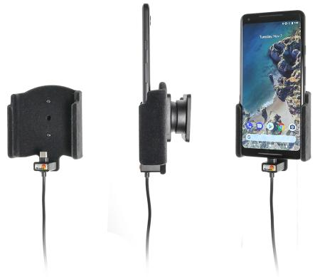 support t l phone google pixel 2 xl avec chargeur allume. Black Bedroom Furniture Sets. Home Design Ideas