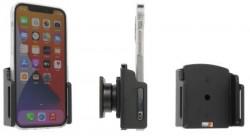 Support passif pour iPhone 12 avec étui (largeur 70-83 mm, ép.: 6-10 mm) - Réf Brodit 711239