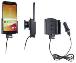 Support téléphone Samsung Galaxy J7 (2017) Sm-J730F avec adaptateur allume-cigare et cable USB. Réf Brodit 721004