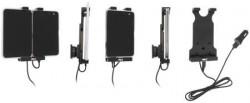 Support pour Microsoft Surface Duo avec adaptateur allume-cigare et cable USB. Réf Brodit 721226